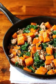 Butternut Squash, Kale And Sausage – Tina's Chic Corner