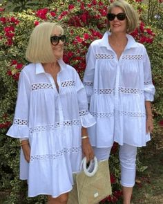 White Pants Outfit, Lace Outfit, Lace Dress, Fancy Tops, How To Look Better, Cover Up, Women Wear, Dressing, Shirt Dress