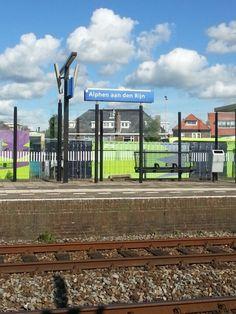 Station Alphen aan den Rijn in Alphen aan den Rijn, Zuid-Holland