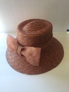 2c18d3ee372 Excited to share this item from my  etsy shop  Vintage Betmar straw hat 1970