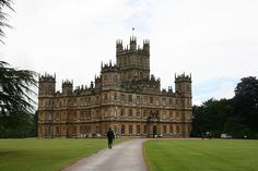 Highclere Castle, country seat of the Earls of Carnarvon, is located south of Newbury. It is the largest mansion in Hampshire. Still owned by the Herbert family, it is open to the public and features a small collection of Egyptian artifacts acquired by the 5th Earl of Carnarvon., via Flickr