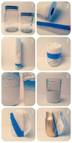 Neat idea for changing Mason jars