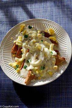 Creamed Eggs on Toast