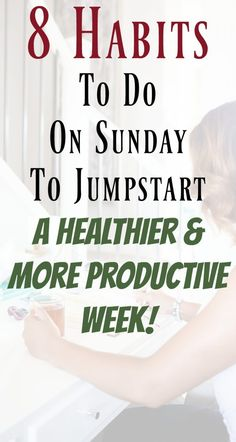 Good Habits to Do On A Sunday. Successful sunday routines to have a productive week. Healthy routines to have a successful week. Good habits to stay productive. Good habits to start. Paleo Diet Plan, Easy Diet Plan, Low Carb Diet Plan, Start Losing Weight, Diet Plans To Lose Weight, How To Lose Weight Fast, Reduce Weight, Good Habits, Healthy Habits