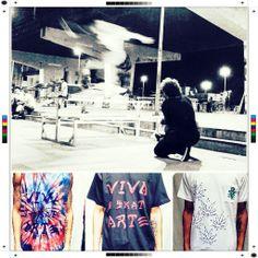 VIVA Skate Arte - Tie dye - www.fazparteshop.com.br Demonstre
