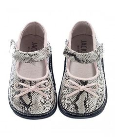 Grey Snakeskin Leather Mary-Janes - Infant by Jack and Lily Shoes on #zulilyUK today!