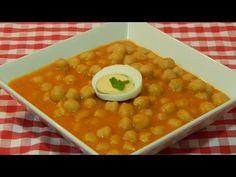 Garbanzos con verduras receta fácil y rápida - YouTube