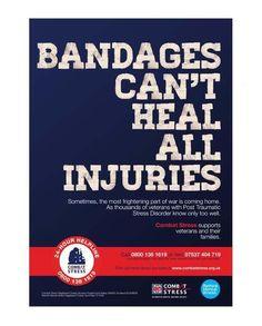 PTSD Combat Stress poster