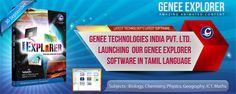 Genee Explorer - Genee Technologies India Pvt Ltd Launching Genee Explorer Software In Tamil Language.
