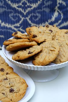 Just a Sliver: Peanut Butter Chocolate Chip Cookies