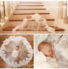 Newborn Christmas Pictures, Newborn Pictures, Baby Pictures, Newborn Pics, Baby In Wedding Dress, Wedding Dresses For Girls, Newborn Shoot, Baby Girl Newborn, Baby Baby