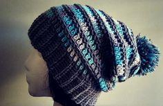 Olive + Brook: Crochet pattern: Rylee long slouch