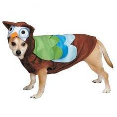 owl dog costume