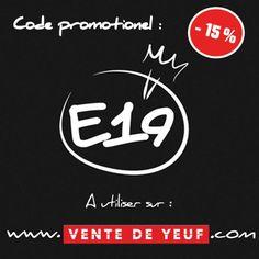 #E19 #PROMO #VENTEDEYEUF