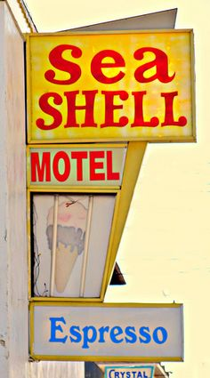 Sea Shell Motel..........Wildwood New Jersey Great Ice Cream Shop. Expect to wait in line.