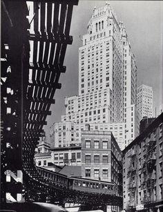Coenties Slip. New York. 1940.  Photographer: Andreas Feininger