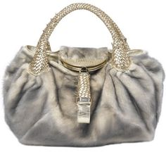 Fendi spy fur handbag...
