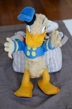 rare donald duck o'lis annèe 1950 ,vintage français de la boutique mylittlefrenchbroc sur Etsy