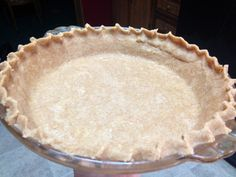 whole wheat pie crust finished