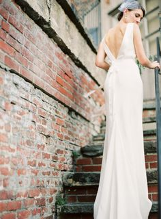 Elegant Fall Wedding in an Old Textile Factory - Style Me Pretty