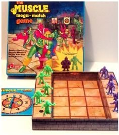 The M.U.S.C.L.E. Mega Match Board Game by Mattel, http://www.amazon.com/dp/B003H1D4M0/ref=cm_sw_r_pi_dp_FzwDqb0RA0BF3