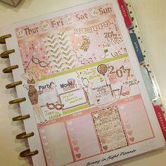 My New Year's week spread! Time to shine! #plan #planner #plannercommunity #plannershop #plannerobsessed #plannersticker #plannerlove #plannerlover #plannergirl #planning #planningcommunity #etsy #etsylove #etsyshop #printable #printables #printablestickers #stickershop #mambi #mambihappyplanner #happyplanner #mambistickers #bunnyinflight #bunnyinflightstickers #winter #december #holidays #newyear2017 #newyear