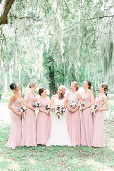 Dusty Rose-a plain, muted and sophisticated pink. It makes a perfect wedding color for any wedding decoration. Dusty rose works well for all seasons. Shop Dusty Rose, Vintage Mauve, Dusk and Wisteria Bridesmaid Dresses at Azazie.com #wedding #weddinginspiration #bridesmaids #bridesmaiddress #bridalparty #maidofhonor #weddingideas #weddingcolors #azazie Azazie Bridesmaid, Bridesmaids, Wisteria Bridesmaid Dresses, Wedding Dresses, Dusty Rose Dress, Dusty Rose Wedding, Maid Of Honor, Dusk, Mauve