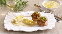 Schweinefilet+mit+Kräuterkruste+und+Spargel+Rezept+»+Knorr