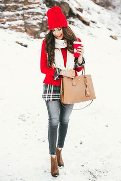 a6e3f525d51b 70 Best Red and white outfits images   Cute outfits, Classy outfits ...