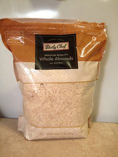 Homemade Almond Flour!!!!'
