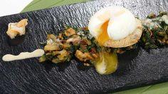 Cómo preparar Huevos escalfados al roncal - RTVE.es