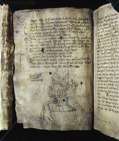 Prose Edda illustration, 14th century