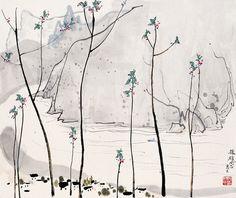 Wu Guanzhong | Publié par Martine Roux à 06:14