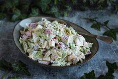 ...konyhán innen - kerten túl...: Almás-majonézes kínai kel saláta Potato Salad, Potatoes, Ethnic Recipes, Food, Eten, Potato, Meals, Diet