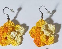 Bellísimos y fáciles de hacer Crochet Earrings, Jewelry, Fashion, Moda, Jewlery, Jewerly, Fashion Styles, Schmuck, Jewels