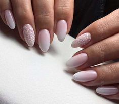 Wedding Nails-A Guide To The Perfect Manicure – NaiLovely Bride Nails, Wedding Nails, Gradient Nails, Acrylic Nails, Pretty Nails, Cute Nails, Nail Art Designs, Nail Design, Hair And Nails