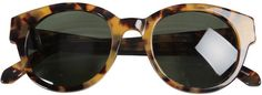 Karen Walker Anywhere Sunglasses in Tortoise Shell