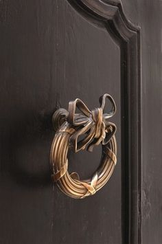 From a selection of unique door knockers.