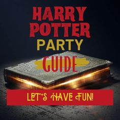 The Harry Potter Party Guide. Hard to believe it's been over twenty years since Harry Potter lured us into the world of wizards.Since then, many amazing celebrations have been hosted the Hogwarts style. It is time for yours!  Ton of Harry Potter party fun on small budget. Magical fun! Cool Harry Potter crafts for the cool muggles Games, food, decorations. Everything you need for a Harry Potter Party!.