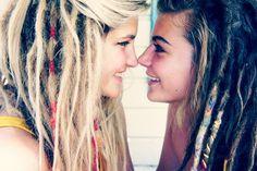 White Girl Dreadlocks Tumblr   dreadlocks, dreads, hair, style, hair style, love, hippie