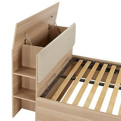 Buy House by John Lewis Super Storage Bed Frame, FSC-Certified, Double Online at johnlewis.com