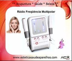 Aparelho 2 em 1 Rádio Frequência e Eletroporação 1MHz Multipolar (X200)
