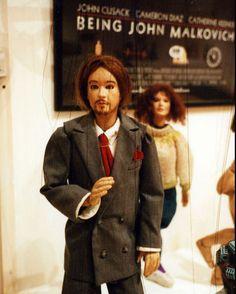 'Being John Malkovich' puppets Spike Jonze, Interview With The Vampire, Cloud Atlas, Donnie Darko, American Psycho, Stanley Kubrick, Pulp Fiction, Brad Pitt, Mad Men