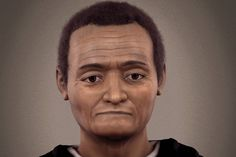 Reconstructed face of St. Martin de Porres. Credit: Divulgaco Ebrafol, Brazilian Team of Forensic Anthropology and Odontology.