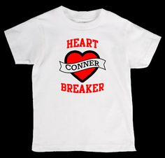Valentines Day Heart Breaker Personalized by designstudiosigns, $24.00