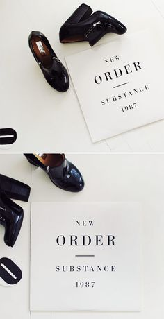 photo by @Nubby Twiglet, peter saville for new order.
