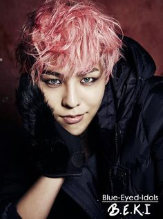 BLUE EYED K-POP IDOLS:   Kwon Jiyong ( G-Dragon) - BIGBANG
