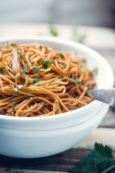 Surinamese Bami. Love this as a side dish or a main with some chicken, diced ham and vegetables in it!