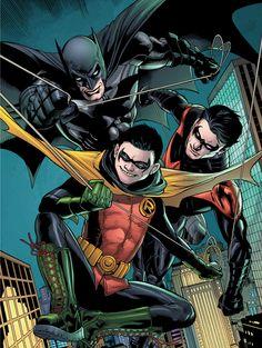 Batman and Robin Annual #2 by Doug Mahnke and Patrick Gleason