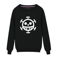 Vicwin-One One Piece Trafalgar D Water Law Black Pullovers Hoodies Cosplay(Size XL) * Continue to the product at the image link.